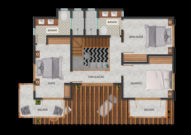 casa-venda-condomínio-arraial